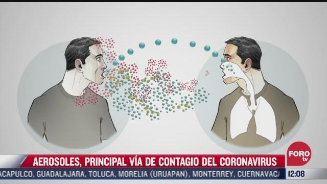 sugiere oms dirigir esfuerzos contra covid 19 mediante contagios por aerosoles