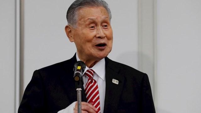 Yoshiro Mori, presidente del comité organizador de los Juegos Tokio 2020