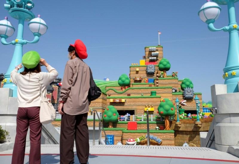Fotos: Inauguran parque de diversiones Super Nintendo World