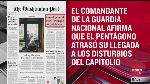 analisis de las portadas nacionales e internacionales del 4 de marzo del