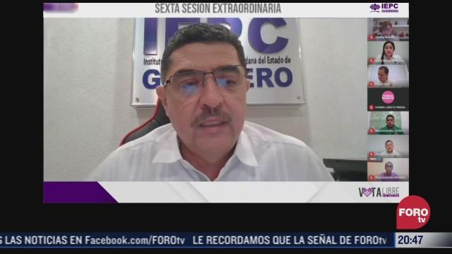 Instituto Electoral de Participación Ciudadana de Guerrero aprobó la candidatura de Félix Salgado Macedonio por Morena al gobierno de la entidad