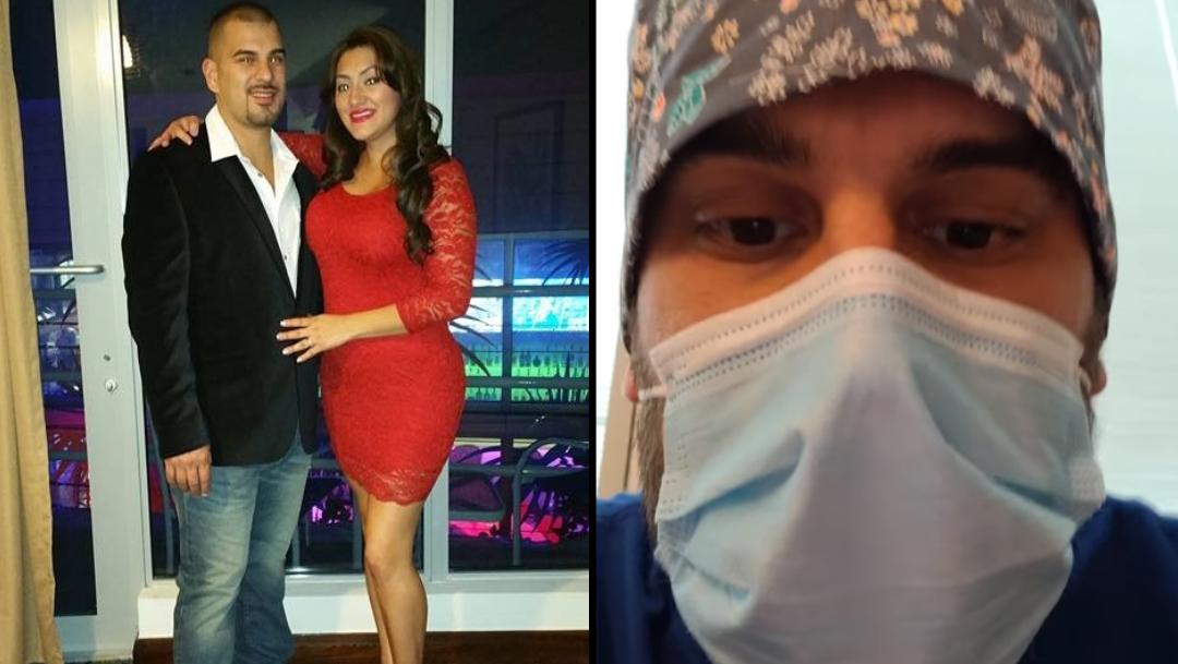 Mujer se contagia de COVID-19, esposo busca ayuda en redes
