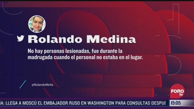 balas impactan instalaciones de televisa en cancun