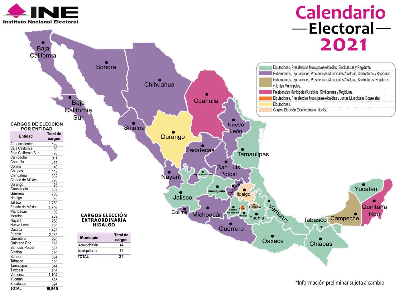 elecciones, INE, 2021, comicios, México