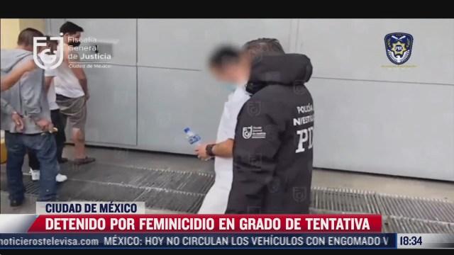 detienen a presunto feminicida y lo trasladan al reclusorio norte