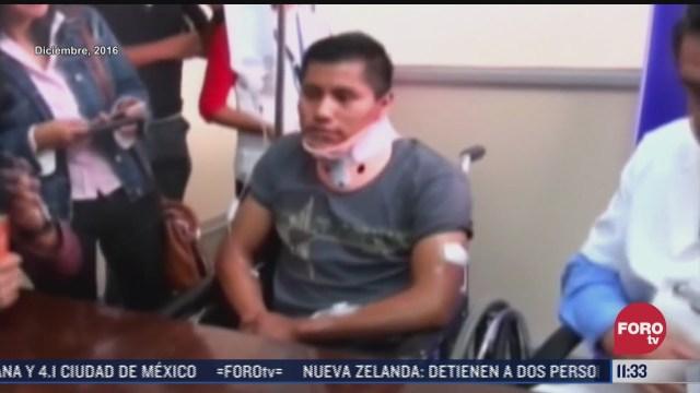 erwin tumiri sobreviviente de dos accidentes fatales
