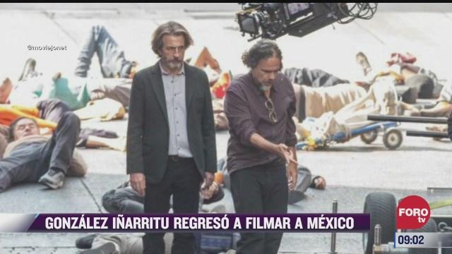 espectaculosenexpreso gonzalez inarritu regresa a filmar a mexico