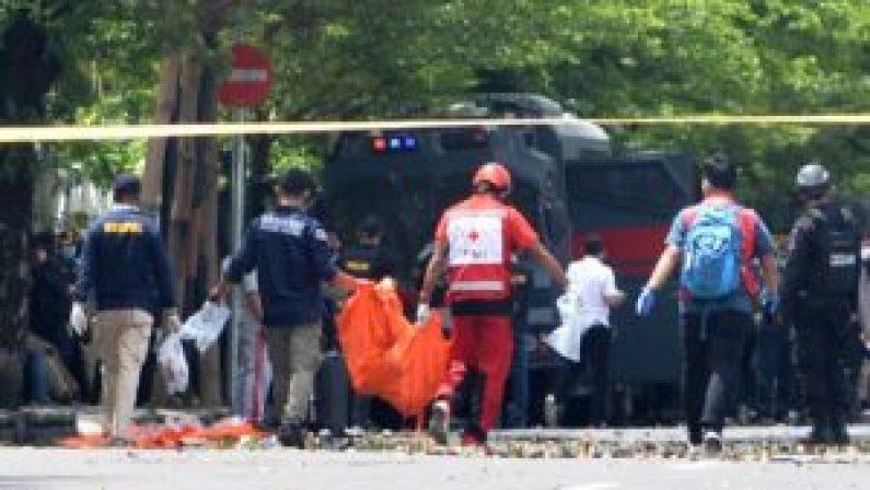 Explosión en Indonesia