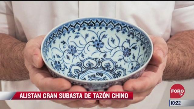 extra extra alistan gran subasta de tazon chino