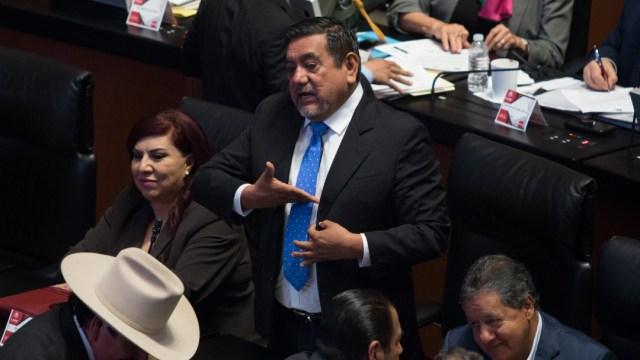 El senador y aspirante de Morena a la gubernatura de Guerrero, Félix Salgado Macedonio