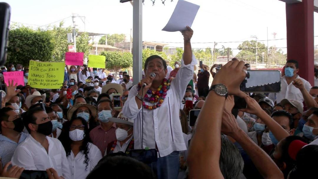INE cancela candidatura de Félix Salgado Macedonio a la gubernatura de Guerrero
