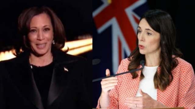 Jacinda Ardern y Kamala Harris conmemoran el Día Internacional de la Mujer en la Eurocámara