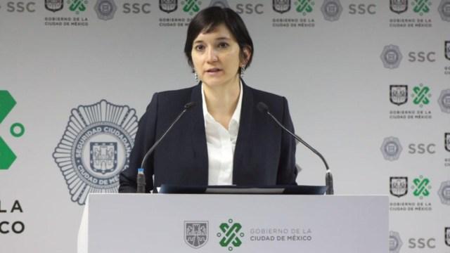 Marcela Figueroa, subsecretaria de Desarrollo Institucional de la Secretaria de Seguridad Ciudadana capitalina
