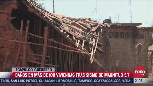 mas de 100 viviendas resultan afectadas tras sismo del 19 de marzo