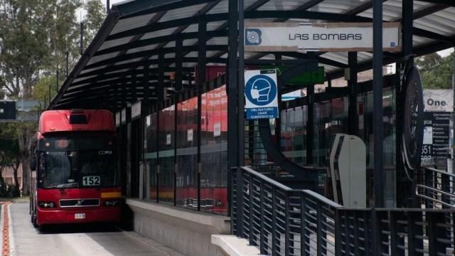 Autobús articulado del Metrobús de la CDMX (Cuartoscuro, archivo)