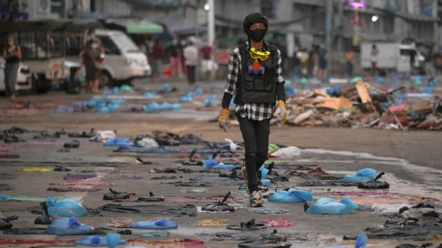 Al menos 39 muertos durante protestas por golpe de Estado en Myanmar