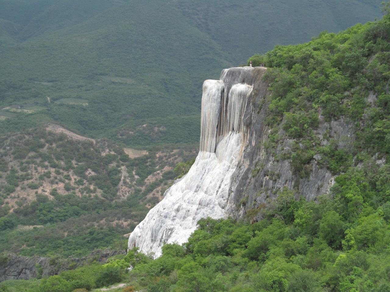 Hierve el Agua, cascadas, Oaxaca, turismo