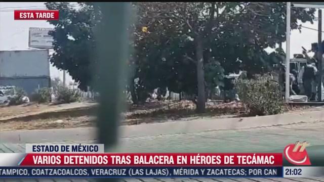 protesta de comerciantes deriva balacera en tecamac