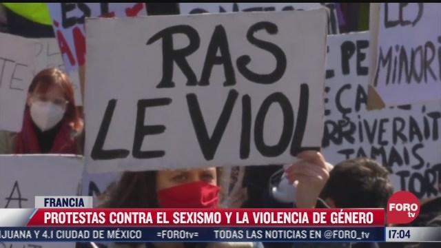 protestas contra el sexismo y la violencia de genero en francia