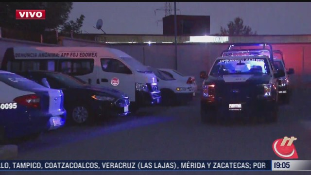 resguardan a detenidos tras balacera en tecamac