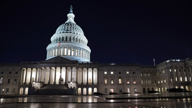 El Capitolio de los Estados Unidos (Getty Images)
