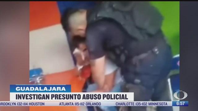 suspenden a policias por abuso en jalisco