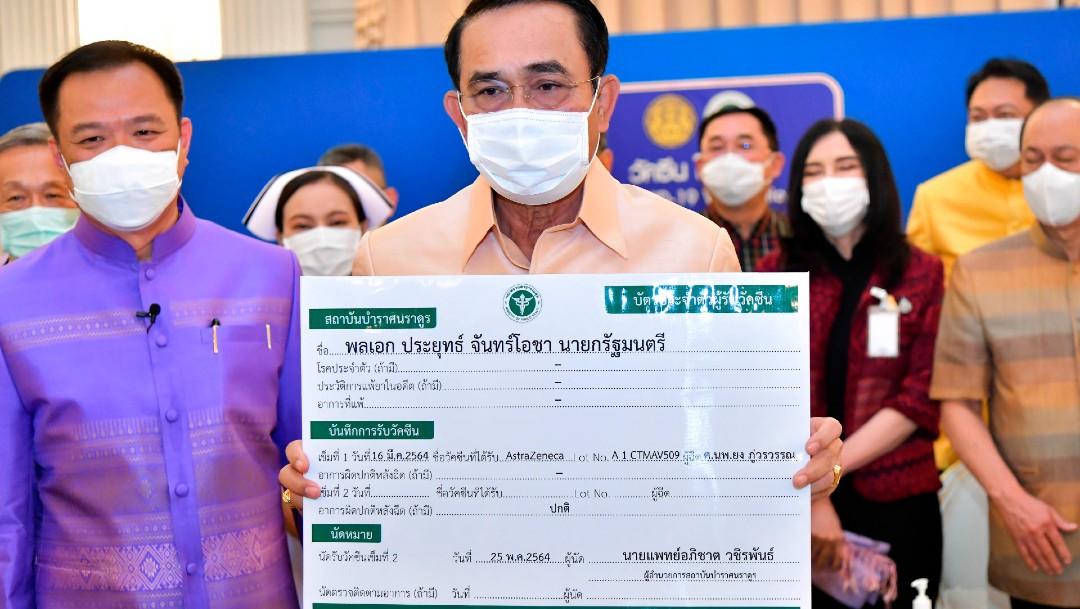Tailandia inicia la vacunación contra COVID con dosis de AstraZeneca