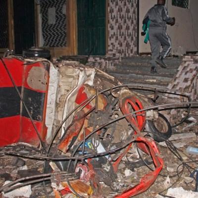 Un coche bomba causa 20 muertos en la capital de Somalia