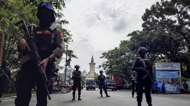 Un muerto y varios heridos deja explosión en Iglesia de Indonesia