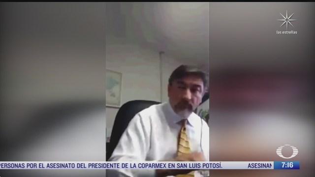 video sexual implica a consul de mexico en canada