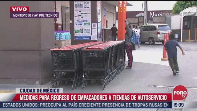 adultos mayores podran regresar a trabajar como empacadores