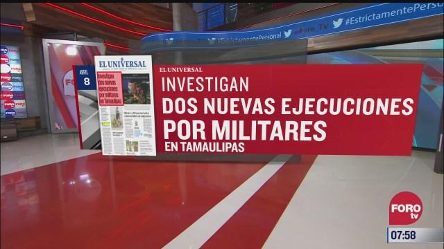 analisis de las portadas nacionales e internacionales del 8 de abril del