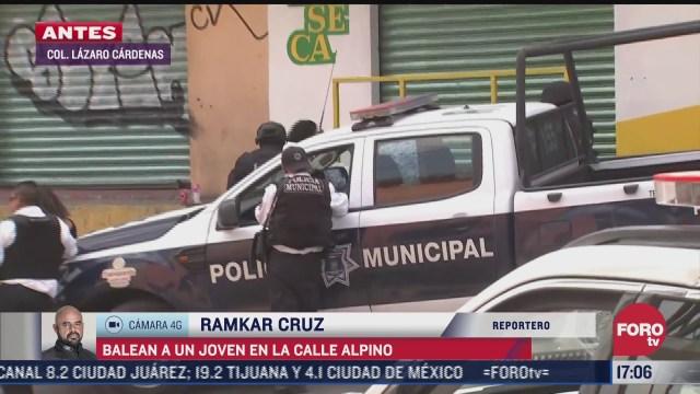 asesinan a joven en la calle alpino en tlalnepantla