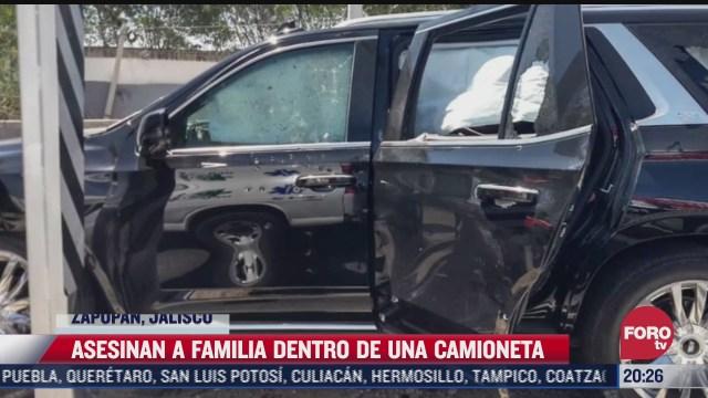 asesinan en jalisco a familiares de cantante grupero
