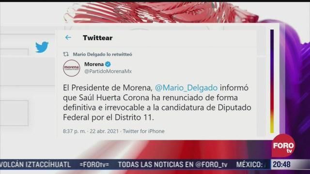 candidato de morena acusado de abuso sexual renuncia a candidatura