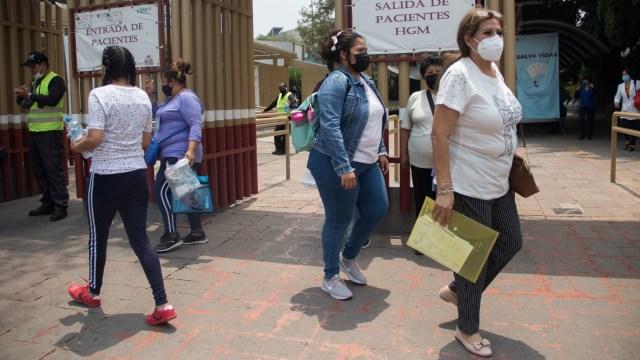 Los casos de COVID-19 en México el 17 de abril 2021