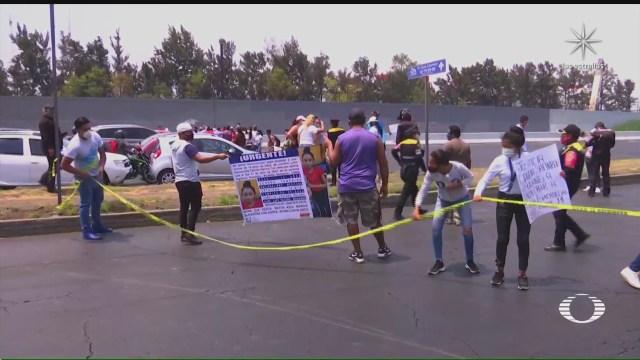 con bloqueos exigen liberacion de adolescente secuestrado por un vecino