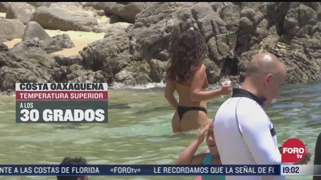 concluye periodo vacacional en playas de oaxaca