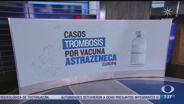 cual es la probabilidad de padecer trombosis por vacuna covid 19 de astrazeneca