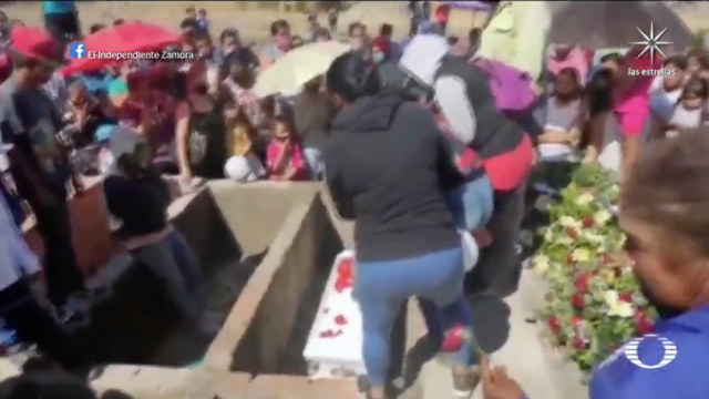 Despiden en Jacona, Michoacán, a Sofía Lizeth, niña de 6 años asesinada y con signos de violencia