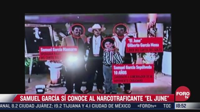 difunden video de samuel garcia a los 10 anos con presunto narco