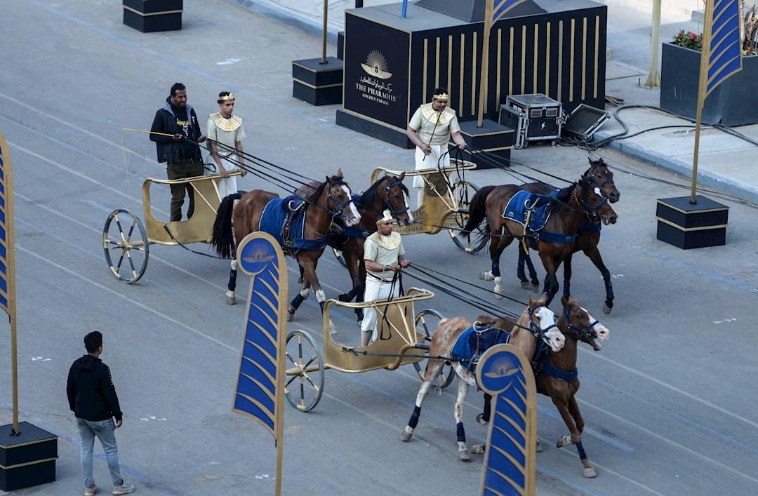 Desfile Dorado, Faraones, momias, Egipto