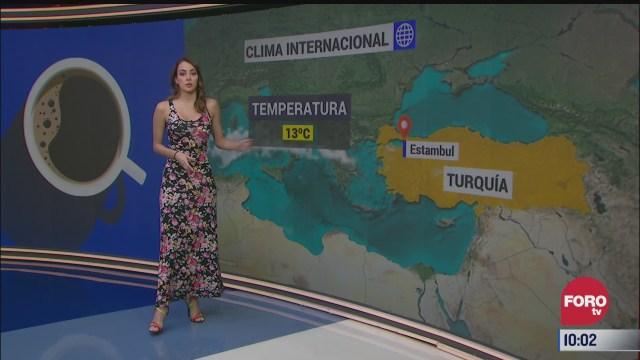 el climaenexpreso internacional del 16 de abril del