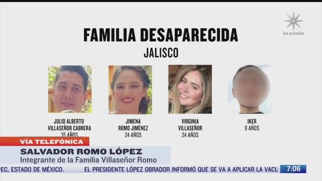 entrevista con salvador romo integrante de la familia desaparecida en jalisco para despierta