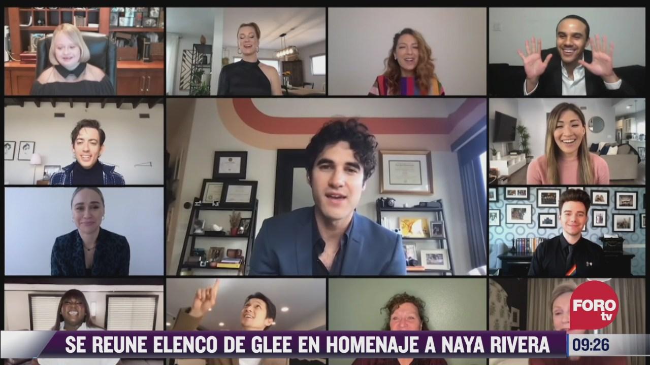 espectaculosenexpreso se reune elenco de glee en homenaje a naya rivera