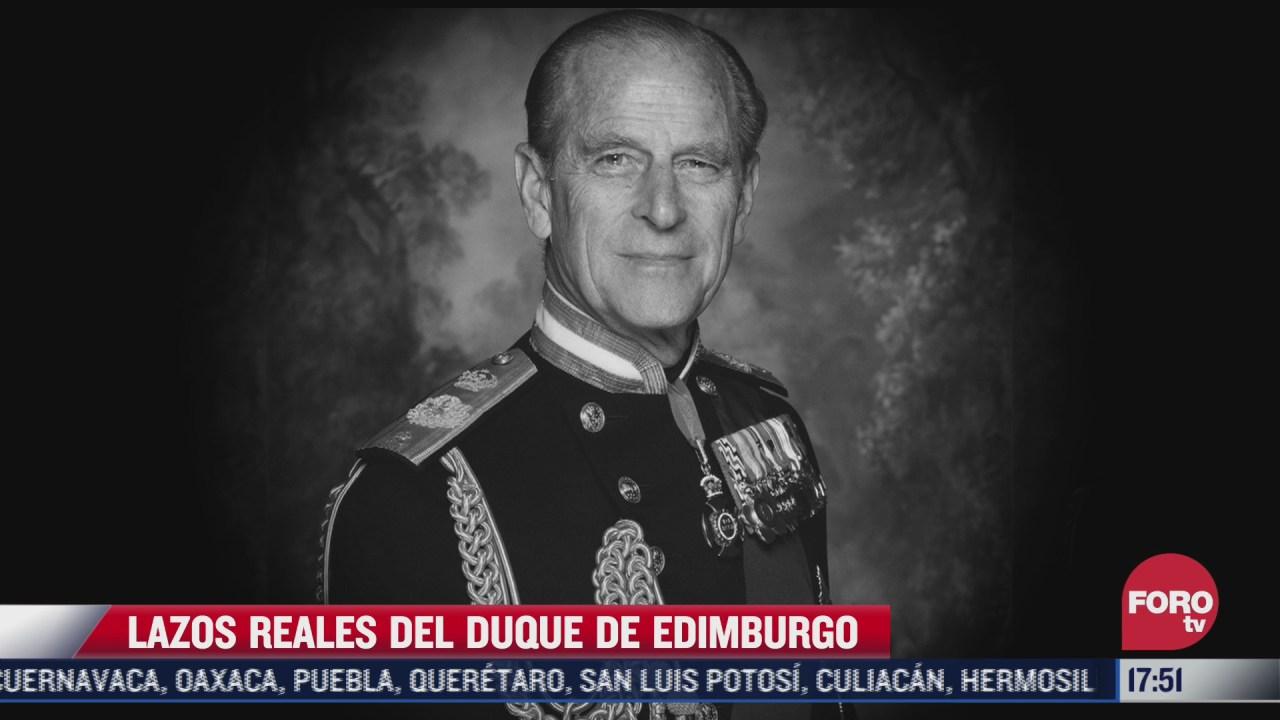 estos son los lazos reales del duque de edimburgo