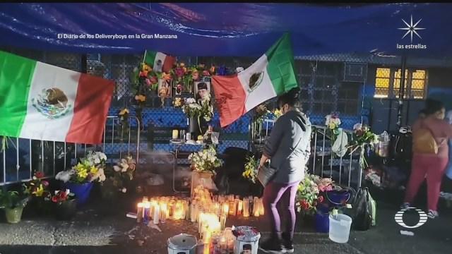 exigen justicia por repartidor mexicano asesinado en nueva york
