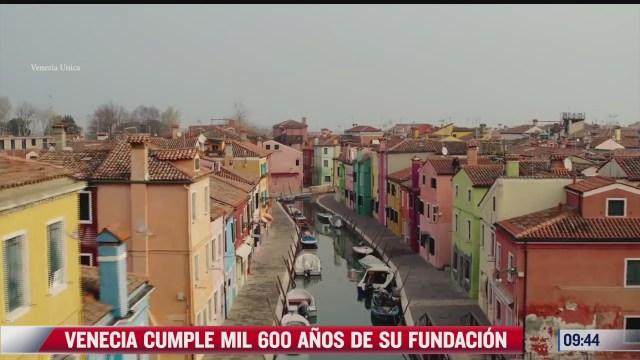 extra extra venecia cumple mil 600 anos de su fundacion