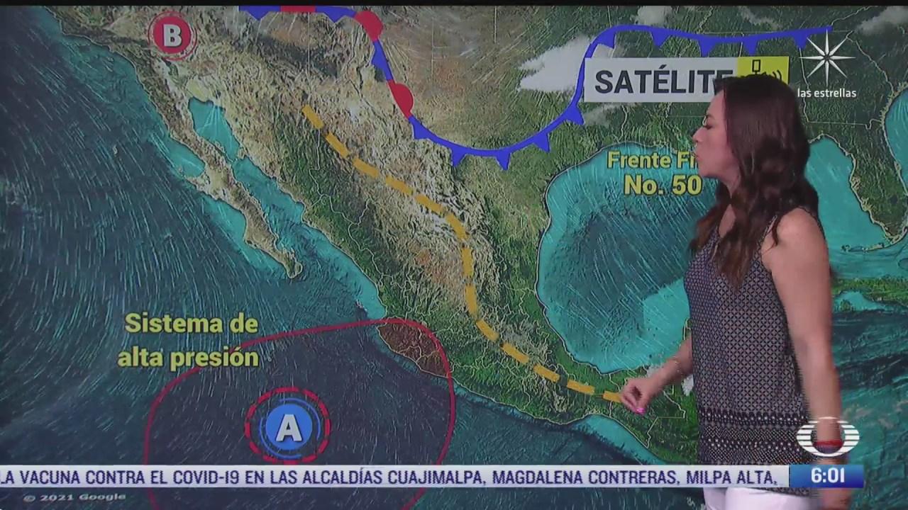 frente frio 50 provocara lluvias en el norte y noreste de mexico