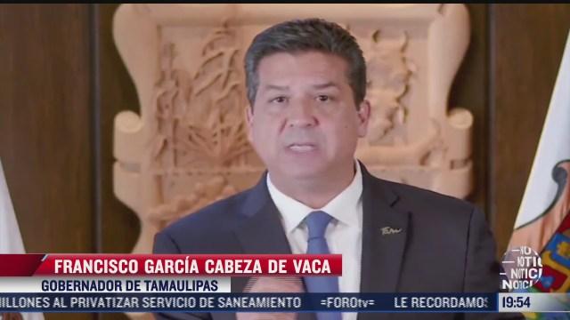 gobernador de tamaulipas acusa linchamiento politico